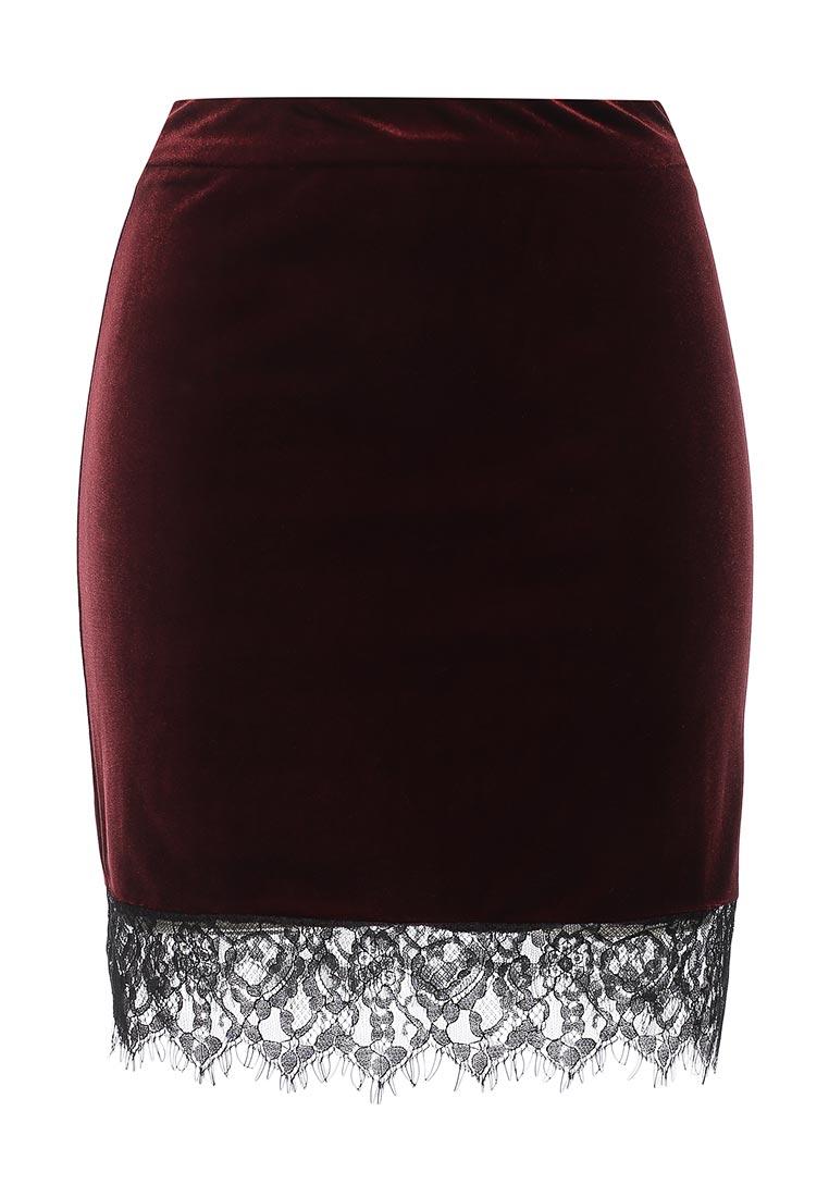 Прямая юбка Miss Selfridge 45K48TRED