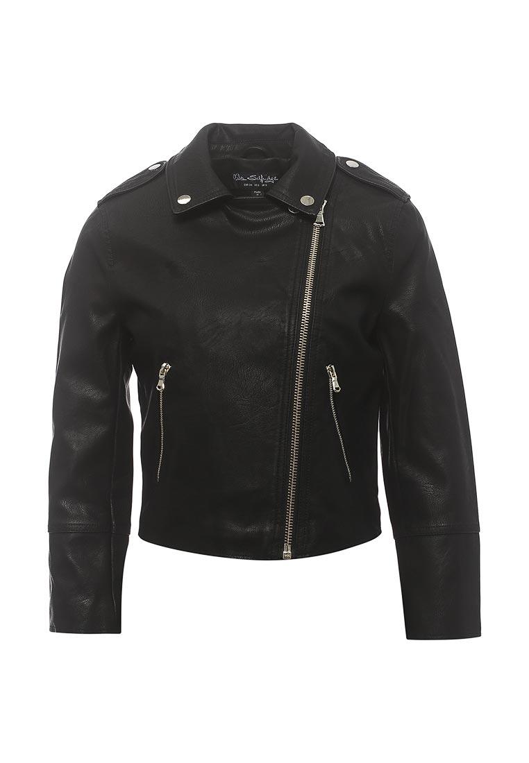 Кожаная куртка Miss Selfridge 44J20UBLK