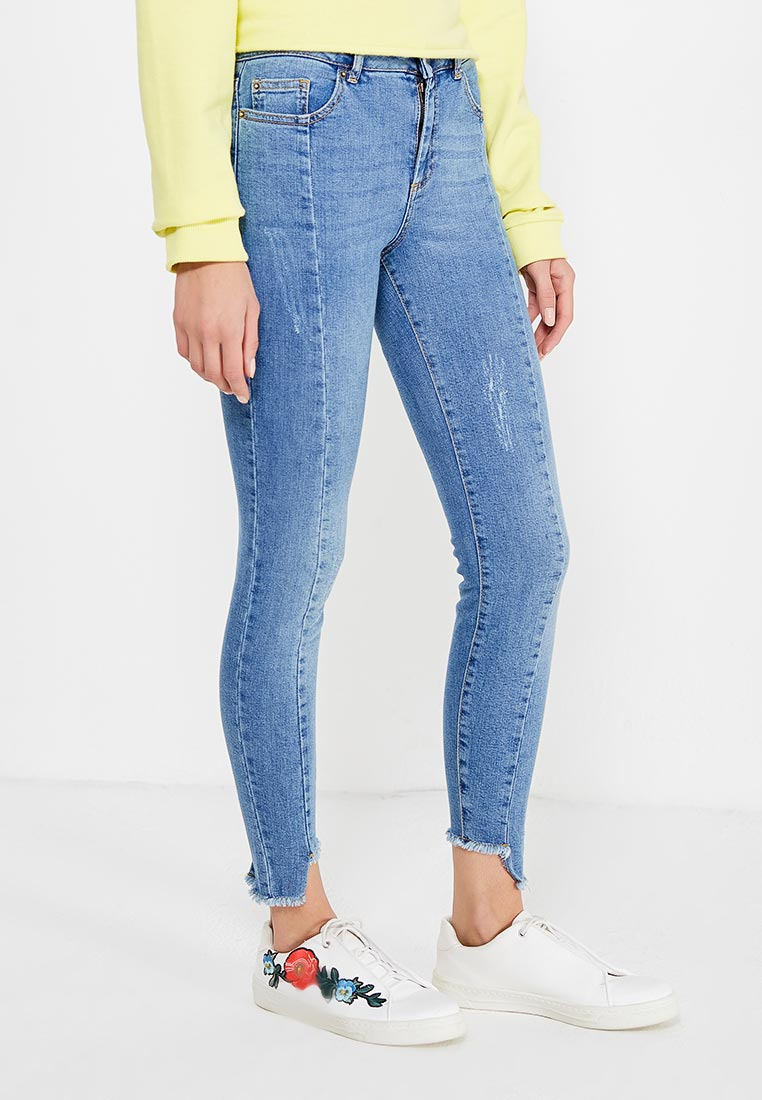 Зауженные джинсы Miss Selfridge 17J94UMDT
