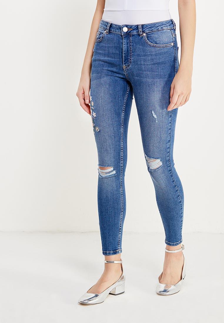 Зауженные джинсы Miss Selfridge 17J05VMDT