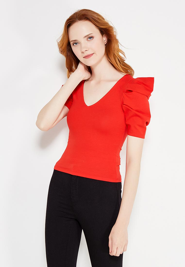 Футболка Miss Selfridge 12A39VRED
