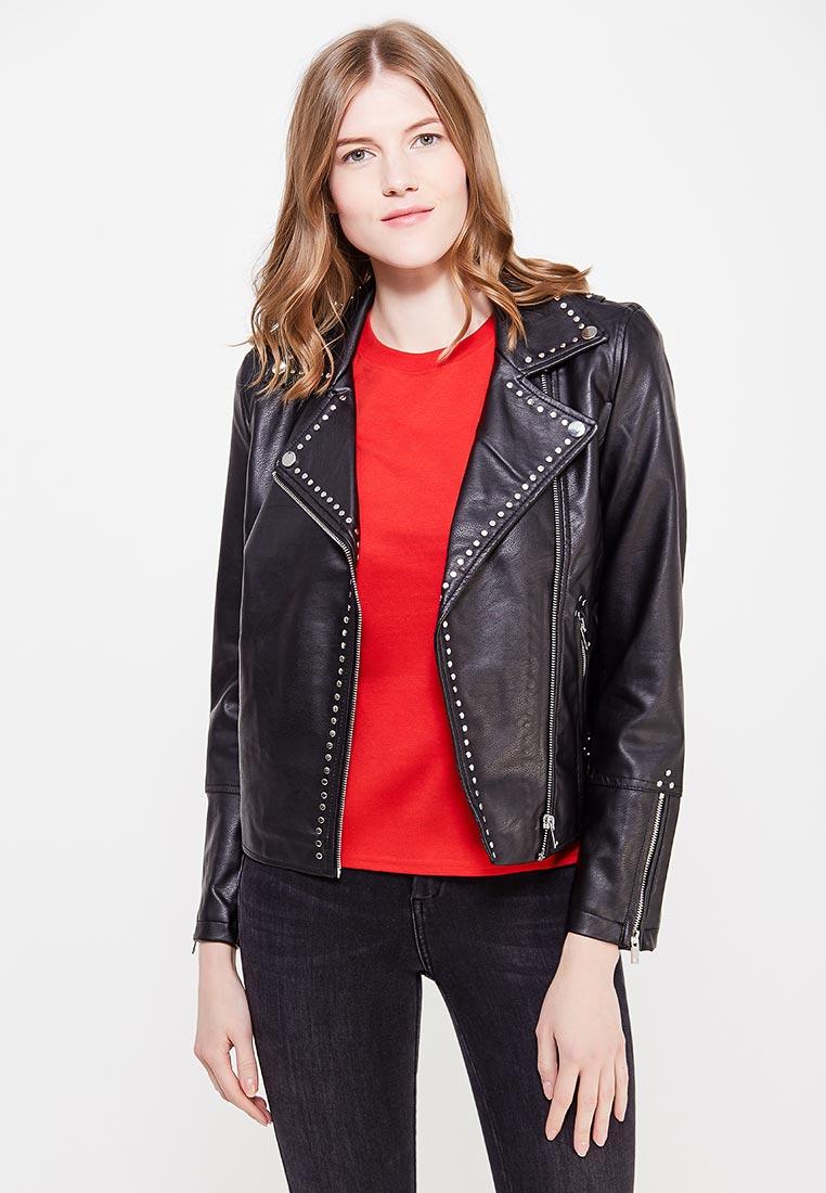 Кожаная куртка Miss Selfridge 44P01VBLK