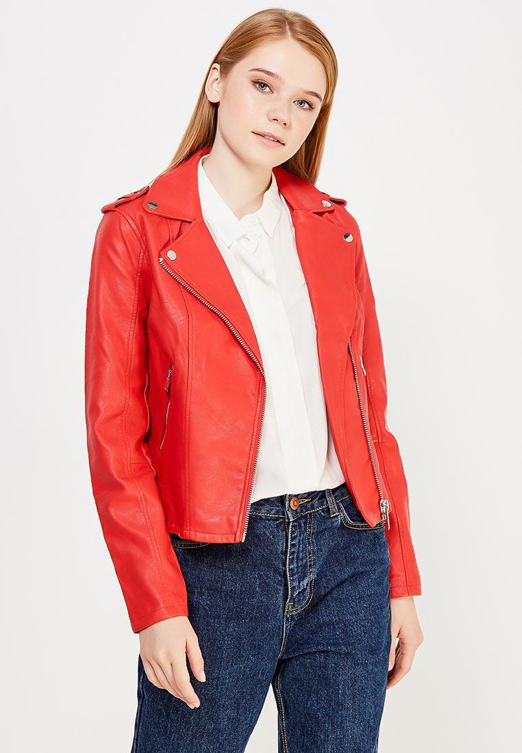 Кожаная куртка Miss Selfridge 44P02VRED
