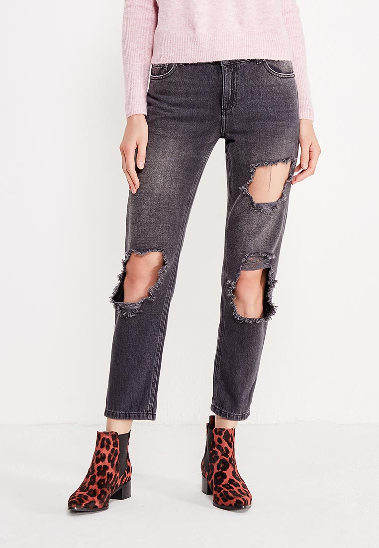 Зауженные джинсы Miss Selfridge 17J20VBLK