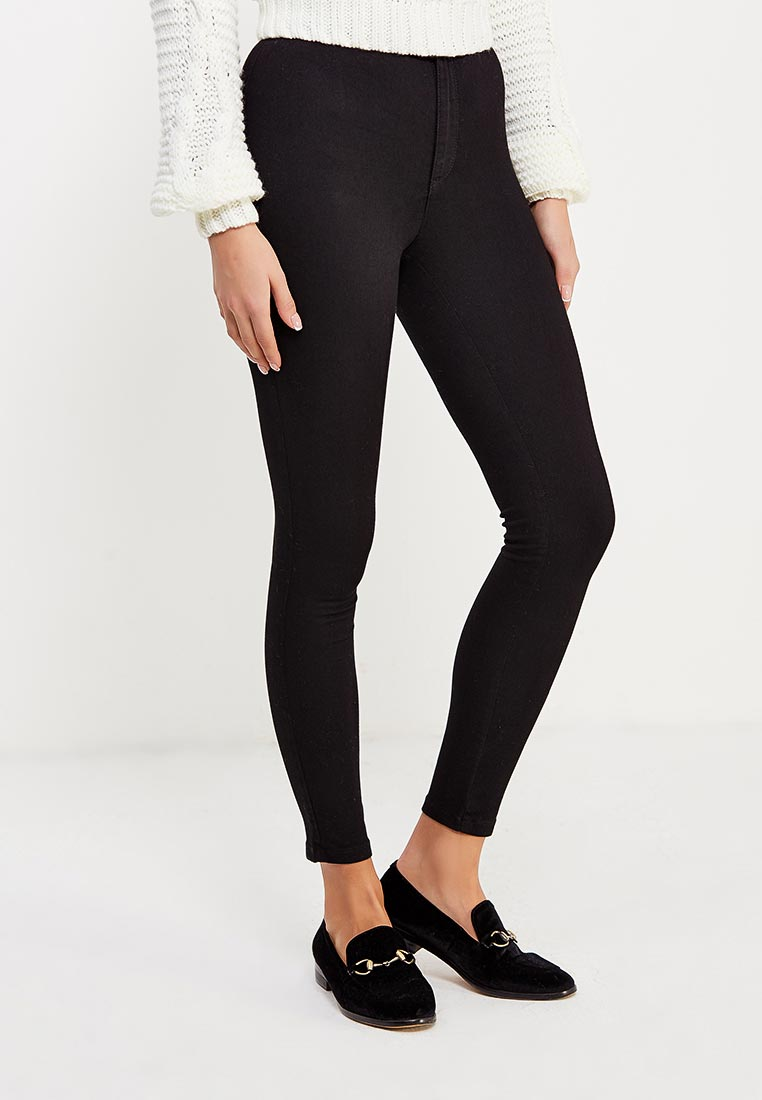 Зауженные джинсы Miss Selfridge 17J22SBLK