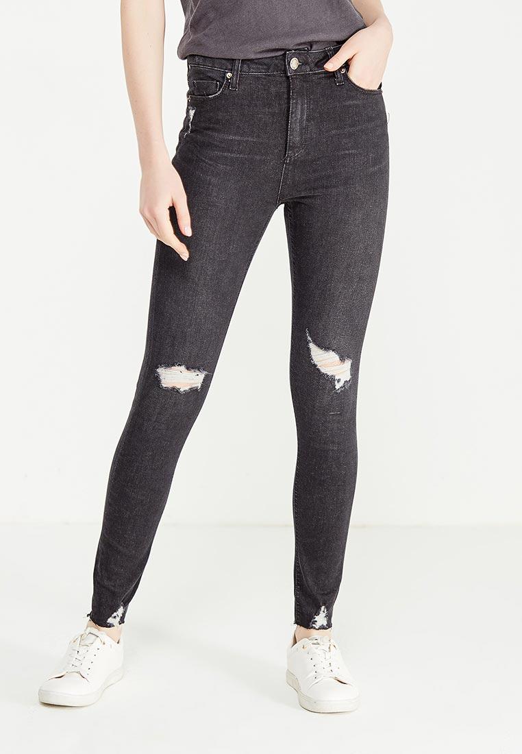 Зауженные джинсы Miss Selfridge 17J28VBLK