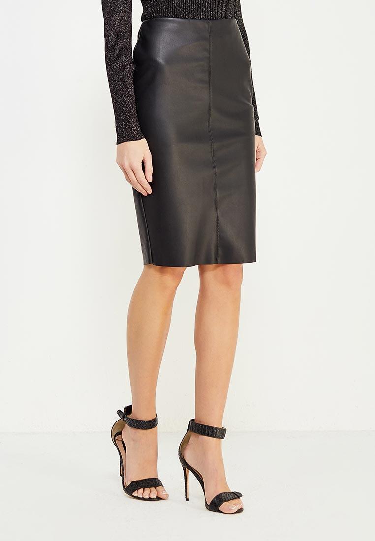 Узкая юбка Miss Selfridge 45K24VBLK