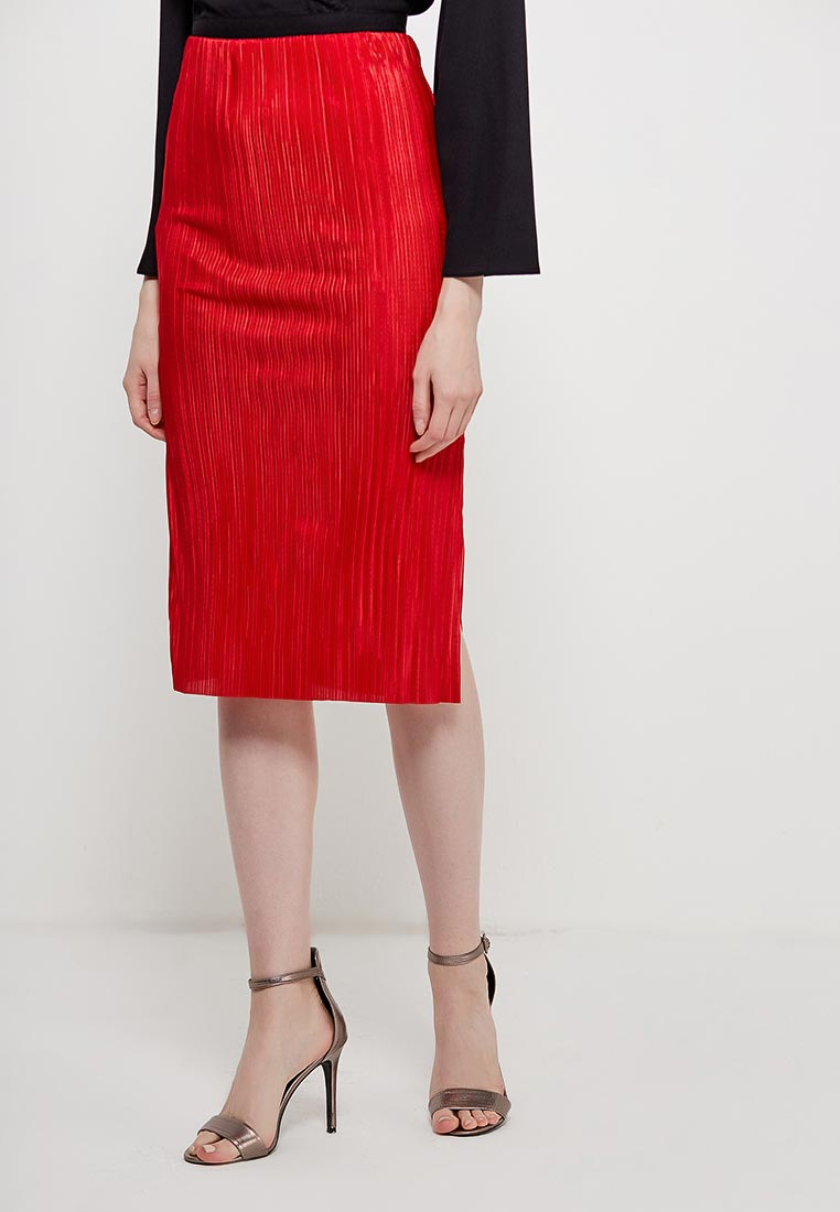 Прямая юбка Miss Selfridge 45K62VRED