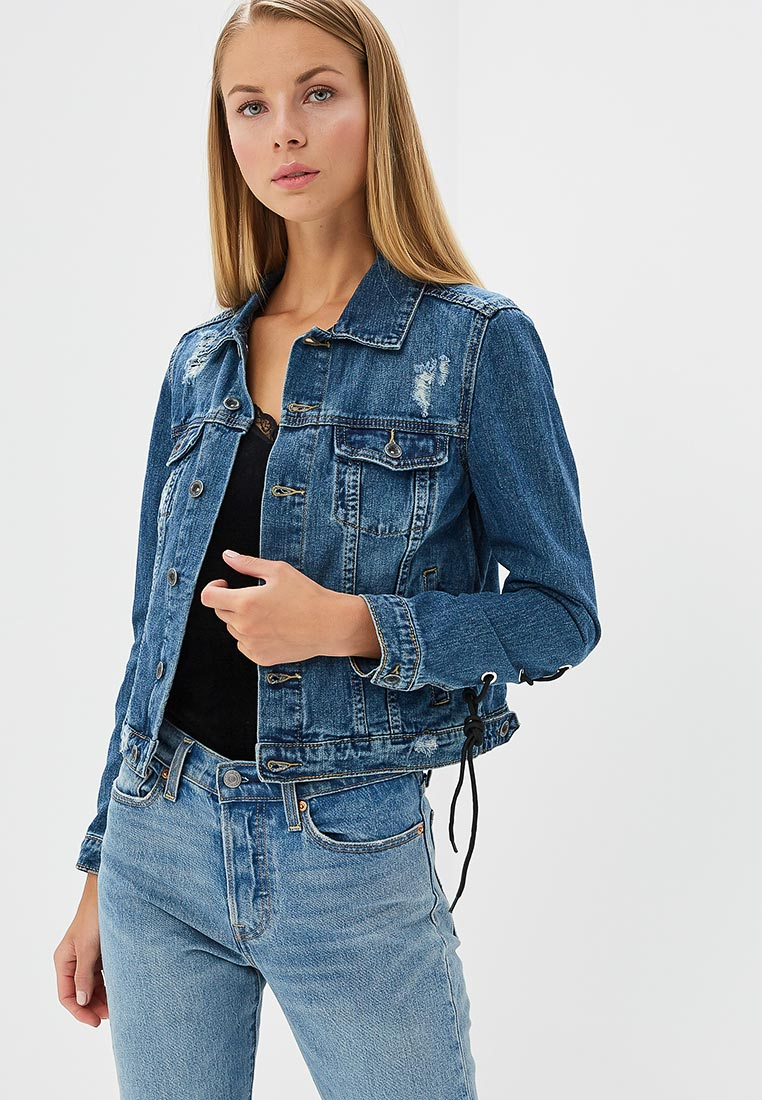Джинсовая куртка Miss Bon Bon B001-H6286