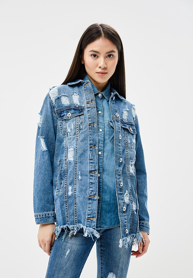 Джинсовая куртка Miss Bon Bon B001-H6560