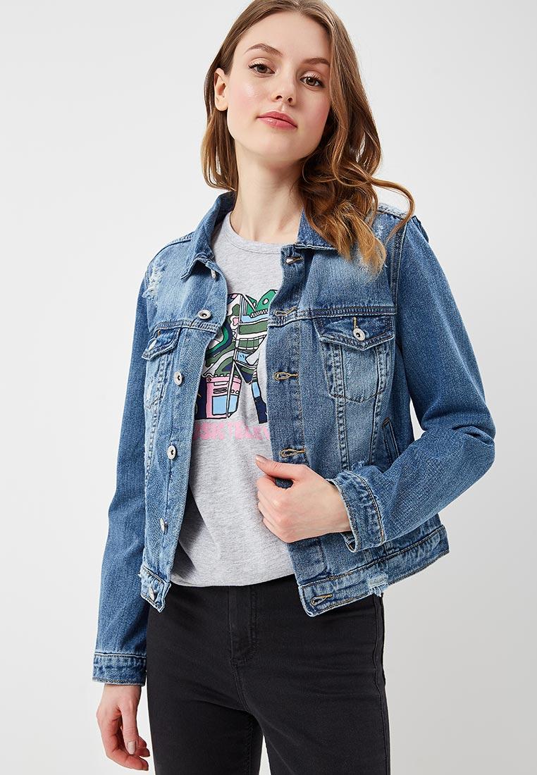 Джинсовая куртка Miss Bon Bon B001-H6825