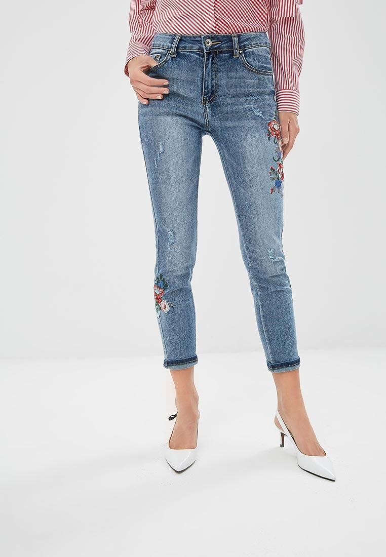 Зауженные джинсы Miss Bon Bon B001-H6887