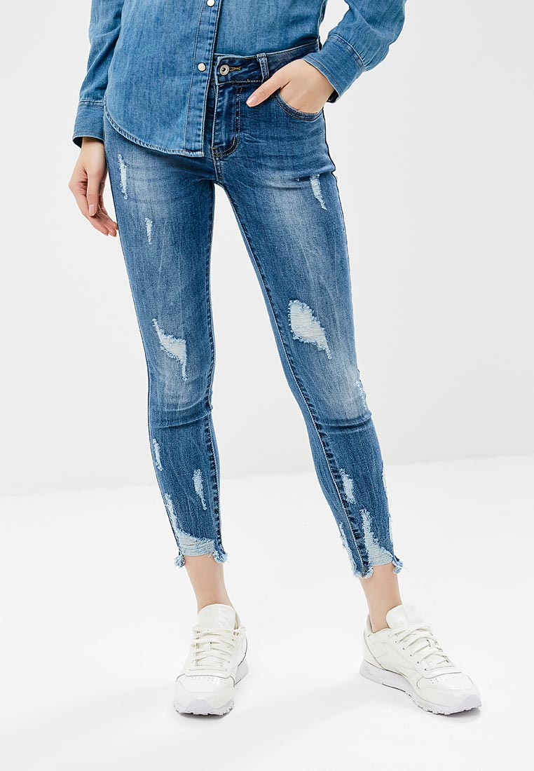 Зауженные джинсы Miss Bon Bon B001-Z2097