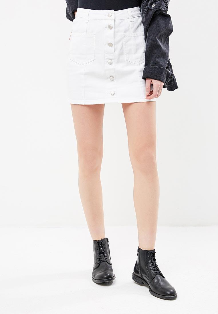 Джинсовая юбка Miss Bon Bon B001-H7032-1