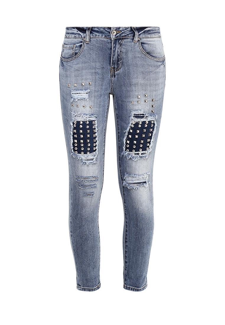Зауженные джинсы Miss Bon Bon B001-H5789