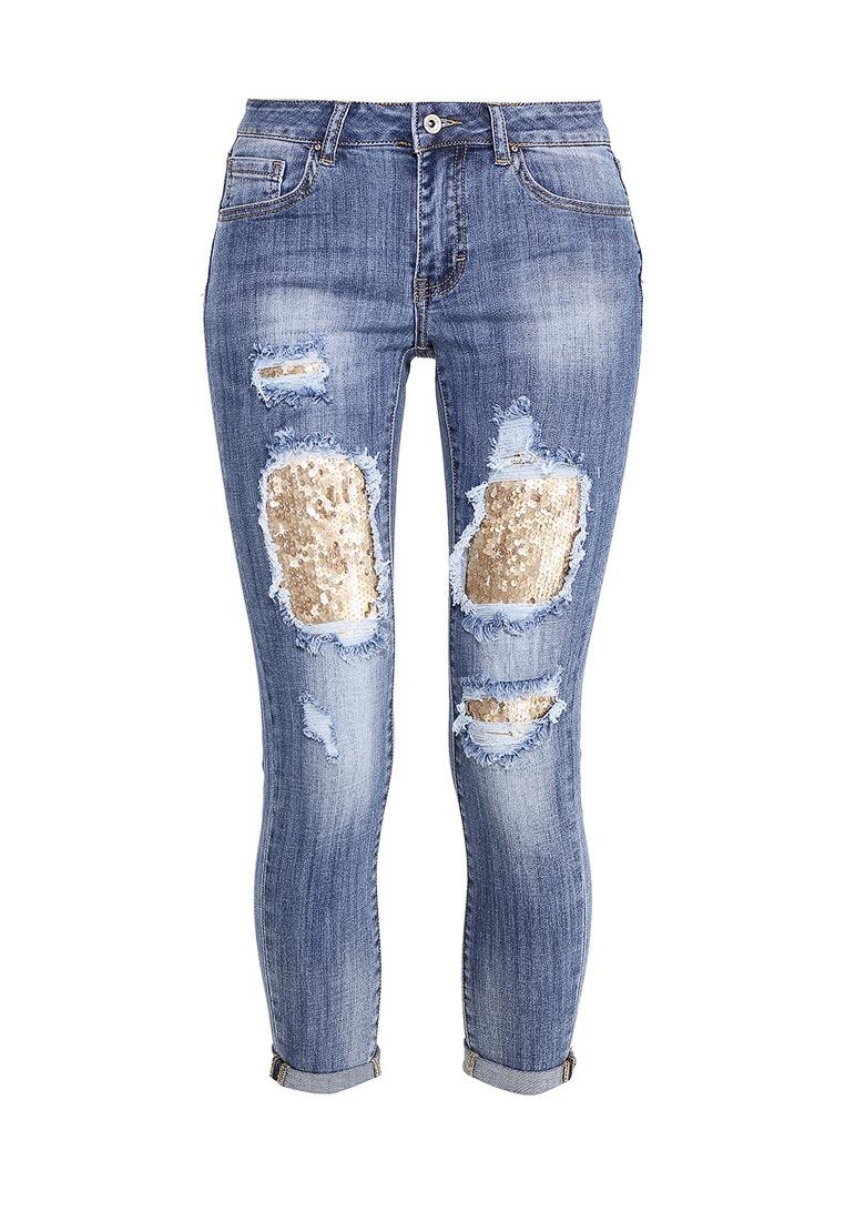 Зауженные джинсы Miss Bon Bon B001-H5898