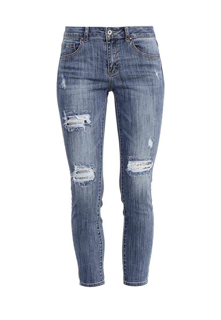 Зауженные джинсы Miss Bon Bon B001-H5915