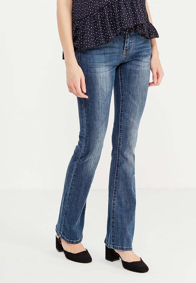 Широкие и расклешенные джинсы Miss Bon Bon B001-Z1829