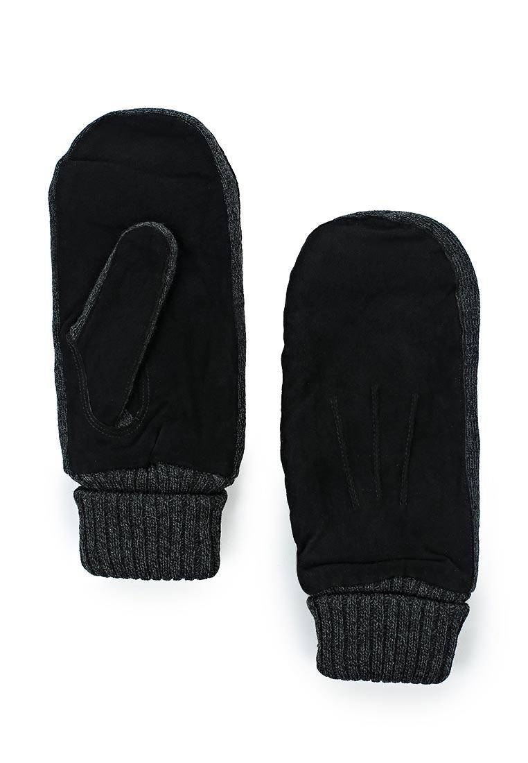 Мужские варежки Modo Gru 2939 men's black/d.grey