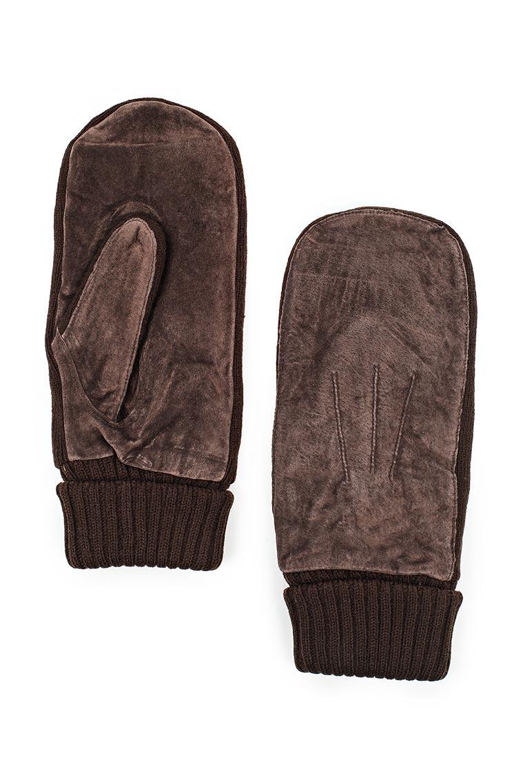 Мужские варежки Modo Gru 2939 men's brown