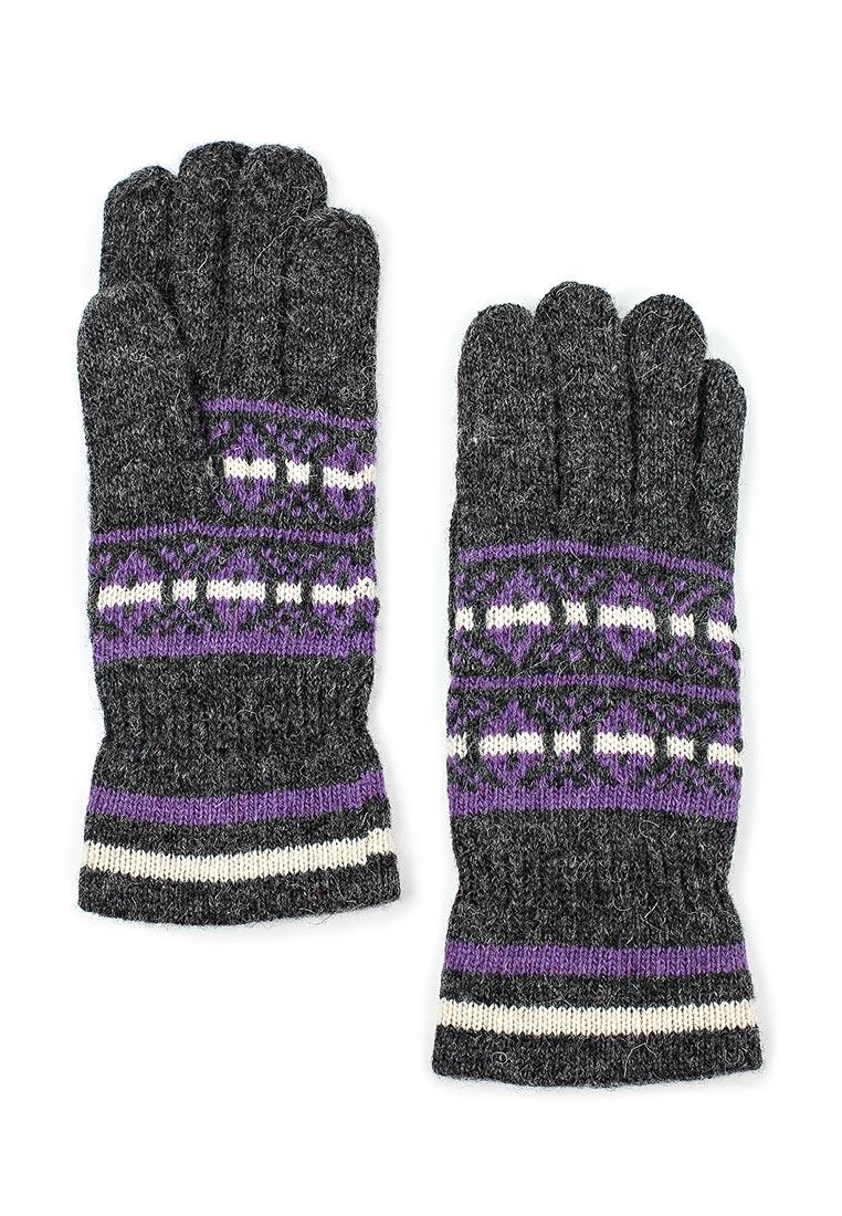 Женские перчатки Modo Gru W38 d.grey/purple