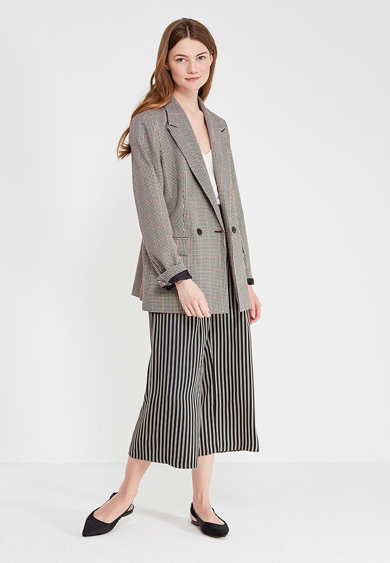 Женские широкие и расклешенные брюки Motivi (Мотиви) P8P006Q0391K: изображение 2