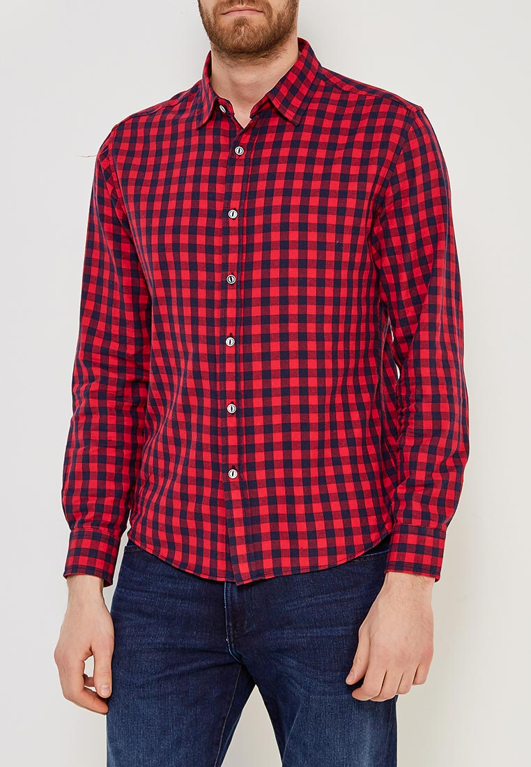 Рубашка с длинным рукавом Modis (Модис) M181M00065