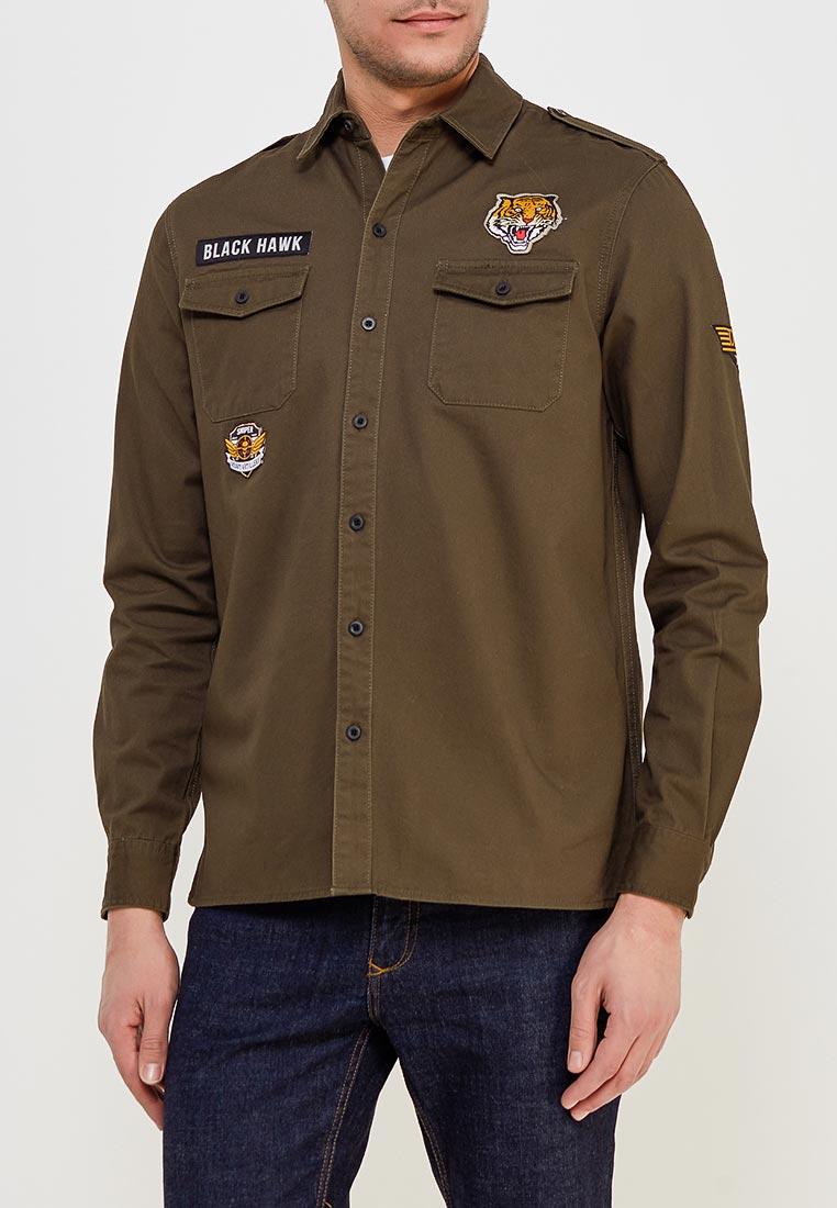 Рубашка с длинным рукавом Modis (Модис) M181M00097