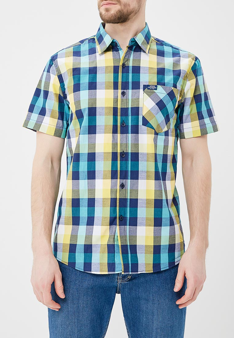 Рубашка с коротким рукавом Modis M181M00156
