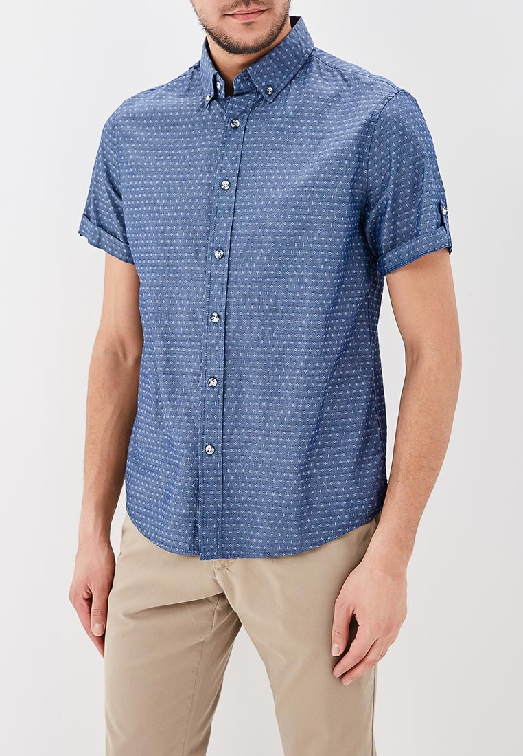 Рубашка с коротким рукавом Modis (Модис) M181M00158