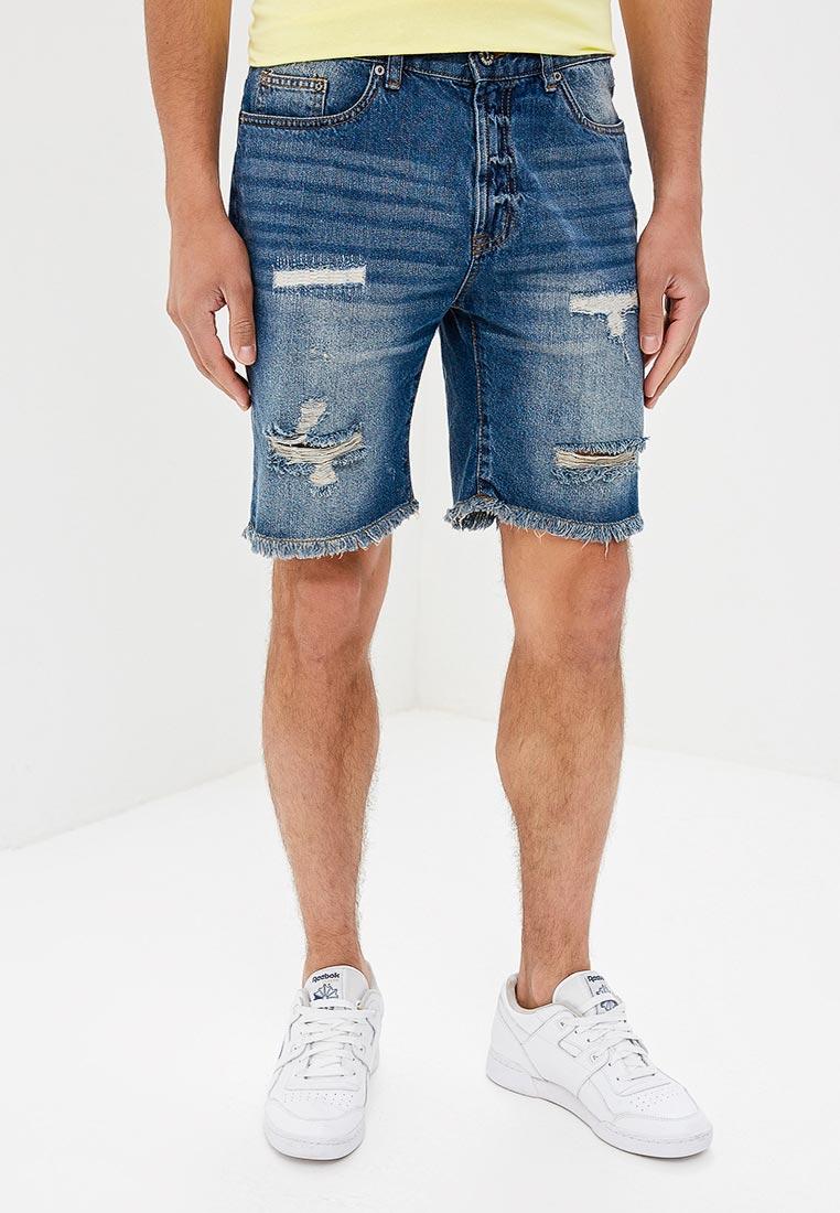 Мужские джинсовые шорты Modis (Модис) M181D00265