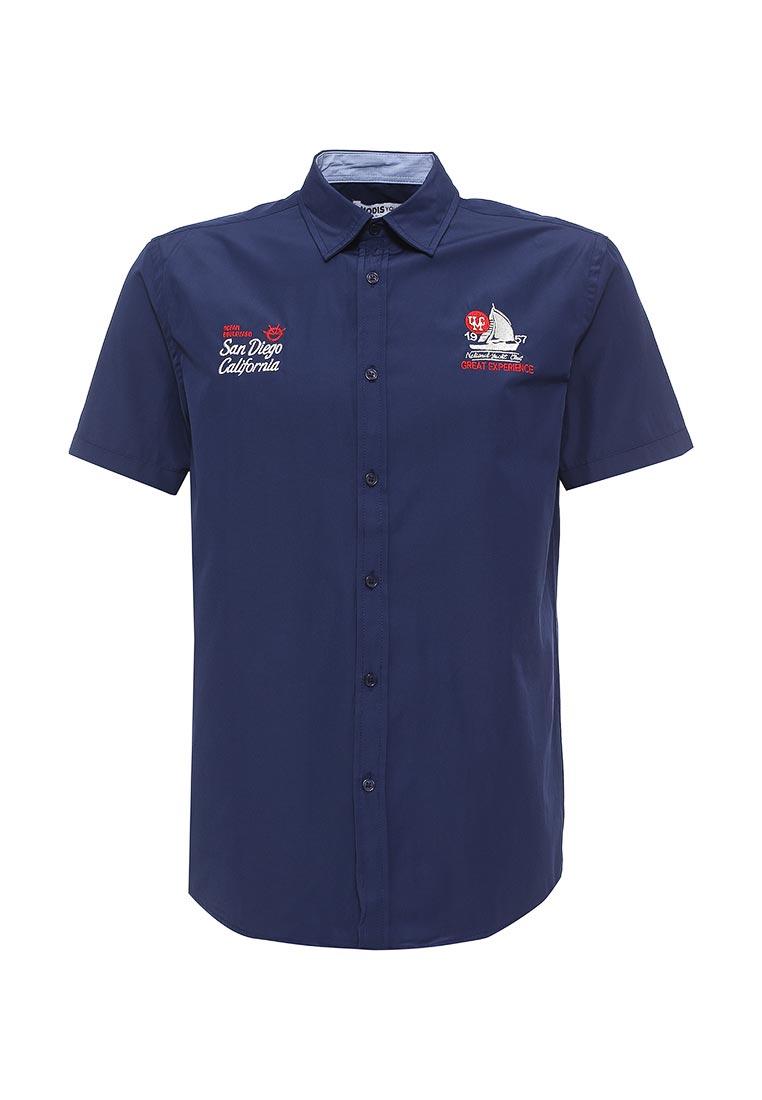 Рубашка с коротким рукавом Modis M171M00366