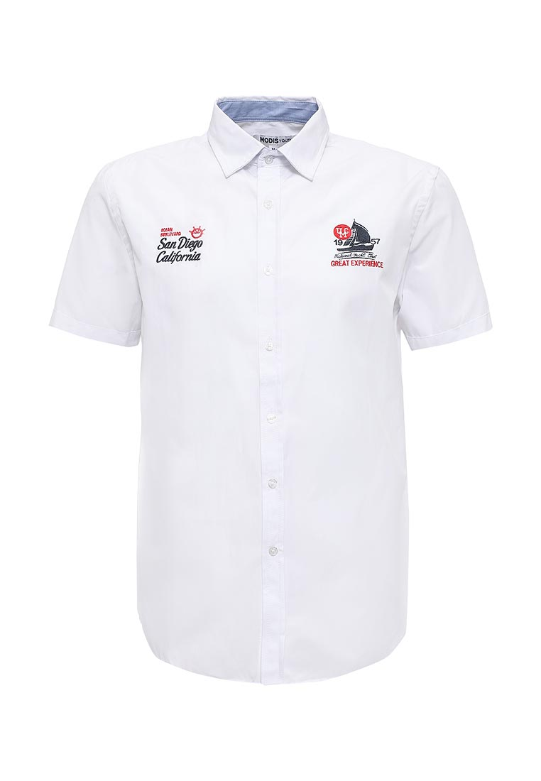 Рубашка с коротким рукавом Modis (Модис) M171M00366