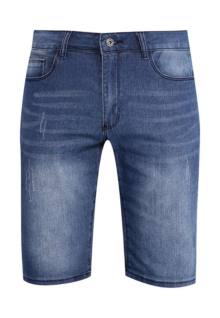 Мужские джинсовые шорты Modis (Модис) M171D00169