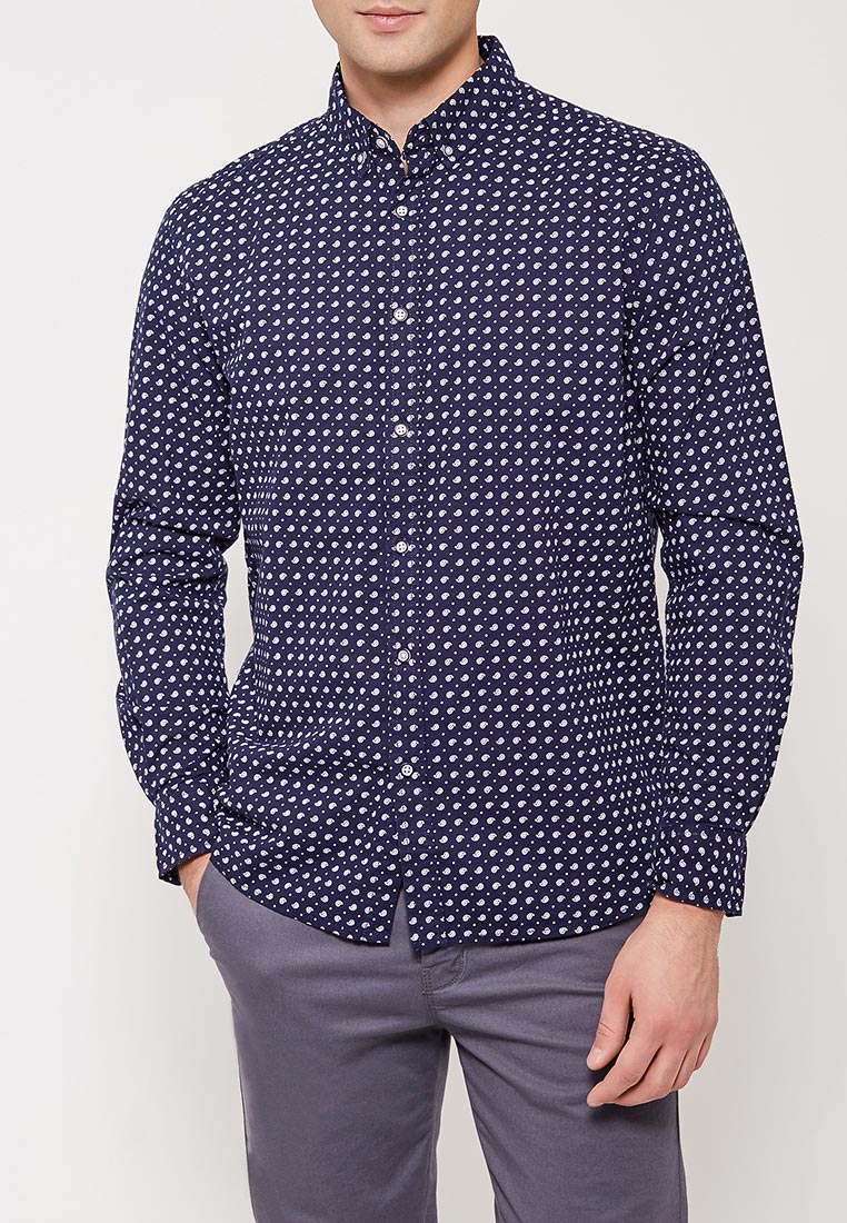 Рубашка с длинным рукавом Modis (Модис) M181M00042