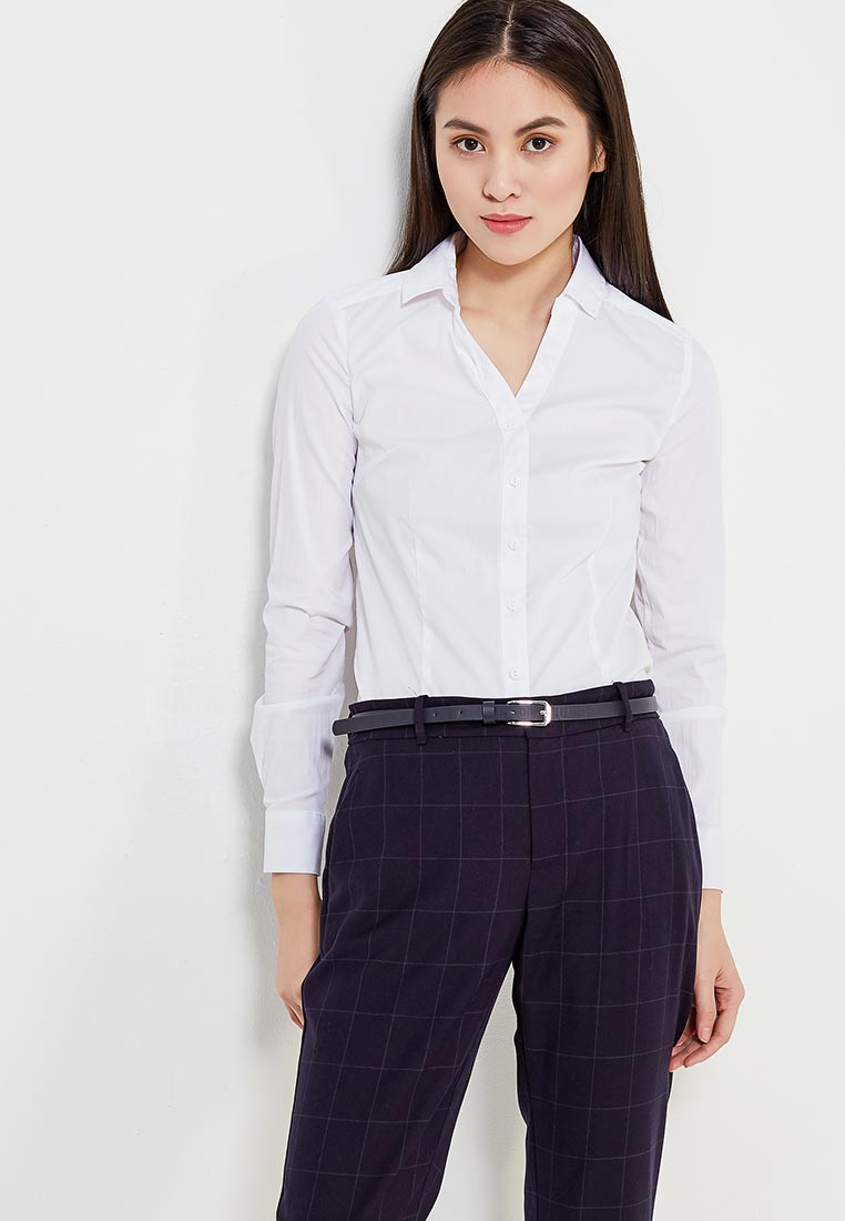 Женские рубашки с длинным рукавом Modis (Модис) M181W00019