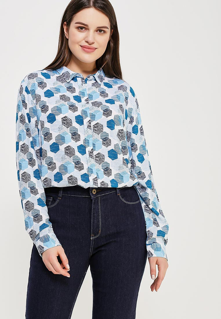 Женские рубашки с длинным рукавом Modis (Модис) M181W00047