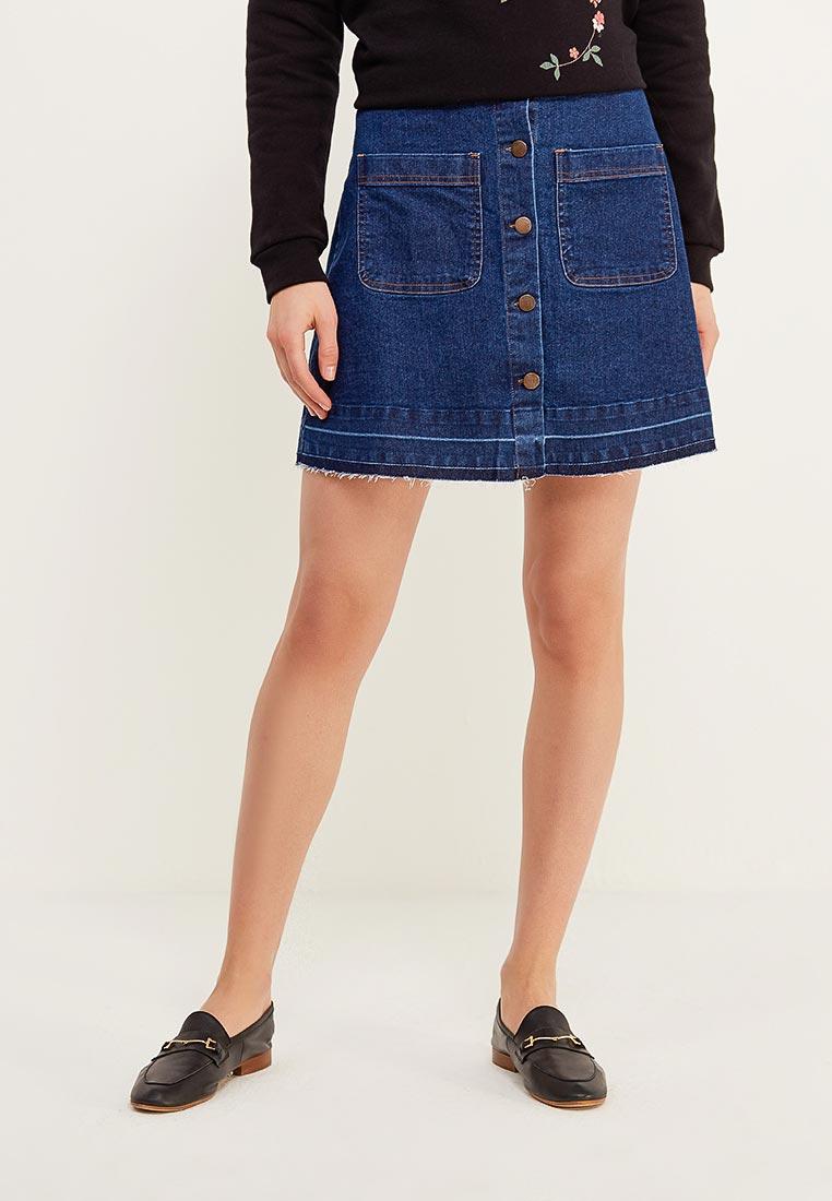 Джинсовая юбка Modis (Модис) M181D00099