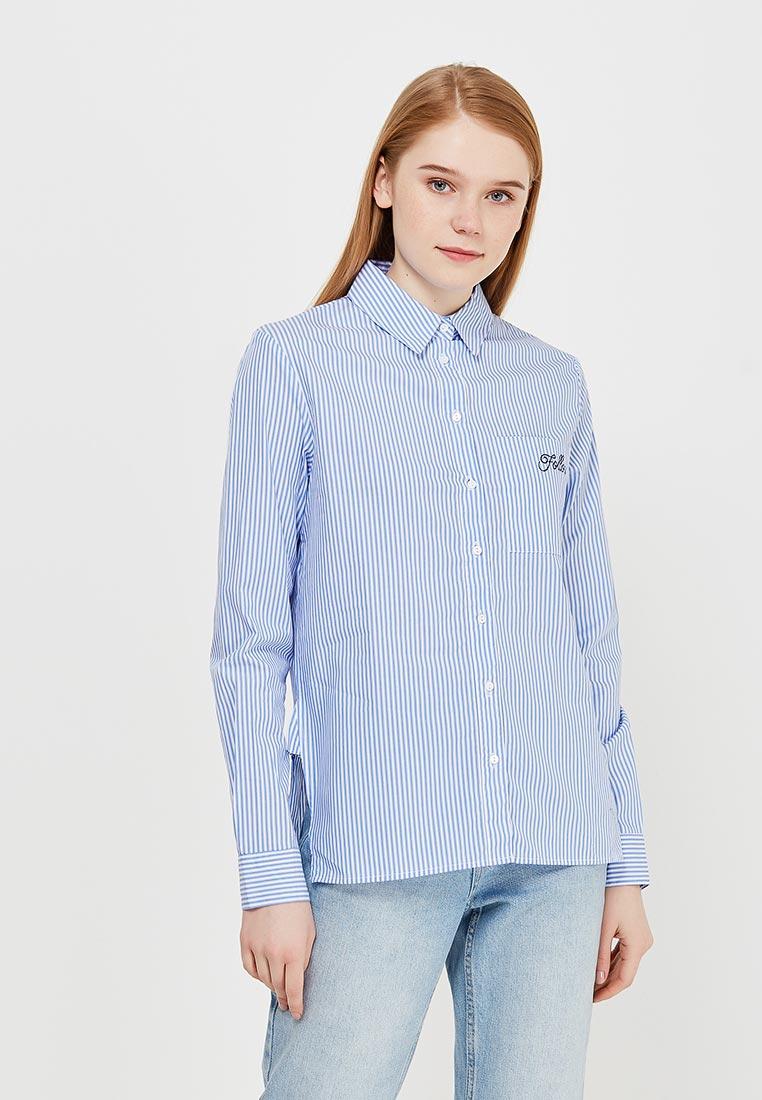 Женские рубашки с длинным рукавом Modis (Модис) M181W00310