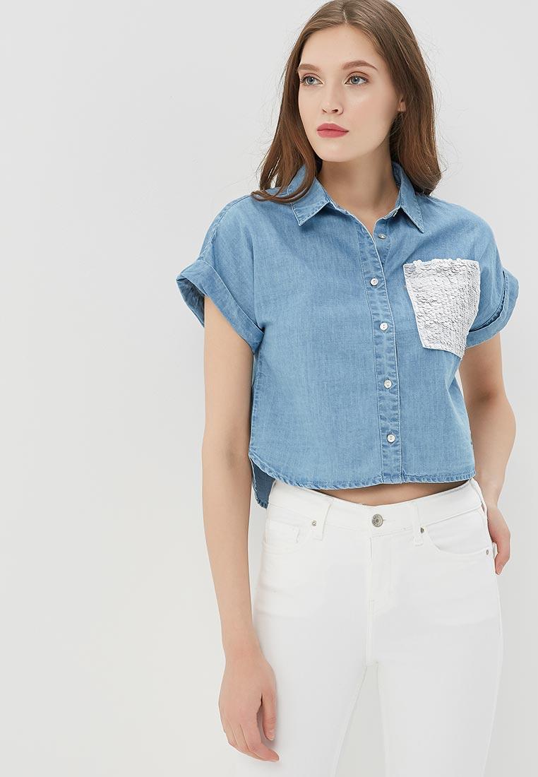 Рубашка с коротким рукавом Modis (Модис) M181D00151