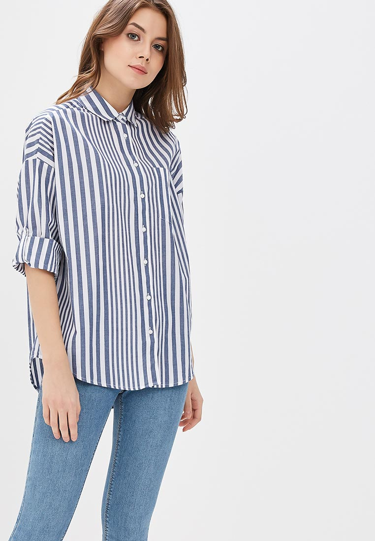 Женские рубашки с длинным рукавом Modis (Модис) M181W00568