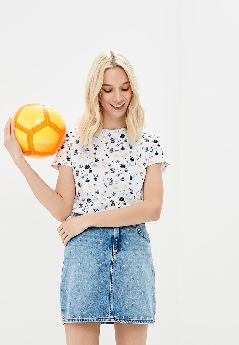 Футболка с коротким рукавом Modis (Модис) M181W00856