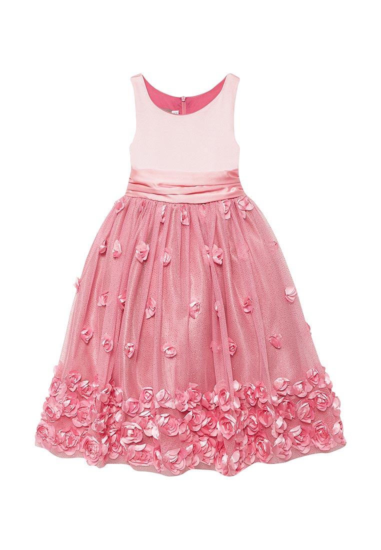 Нарядное платье Shened SH16704розовый-104-110