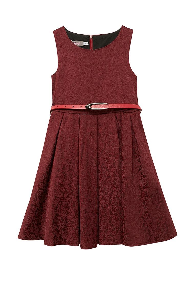 Нарядное платье Shened SH17100бордовый-116-122