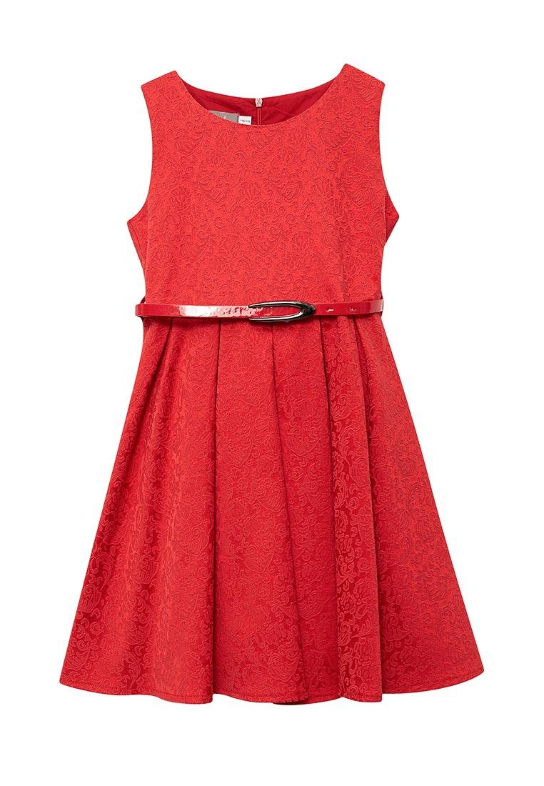 Нарядное платье Shened SH17100красный-116-122