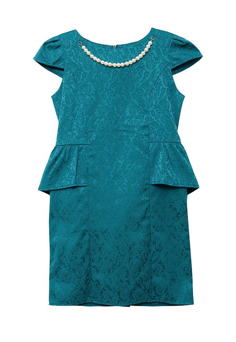 Нарядное платье Shened SH17110изумруд-128-134