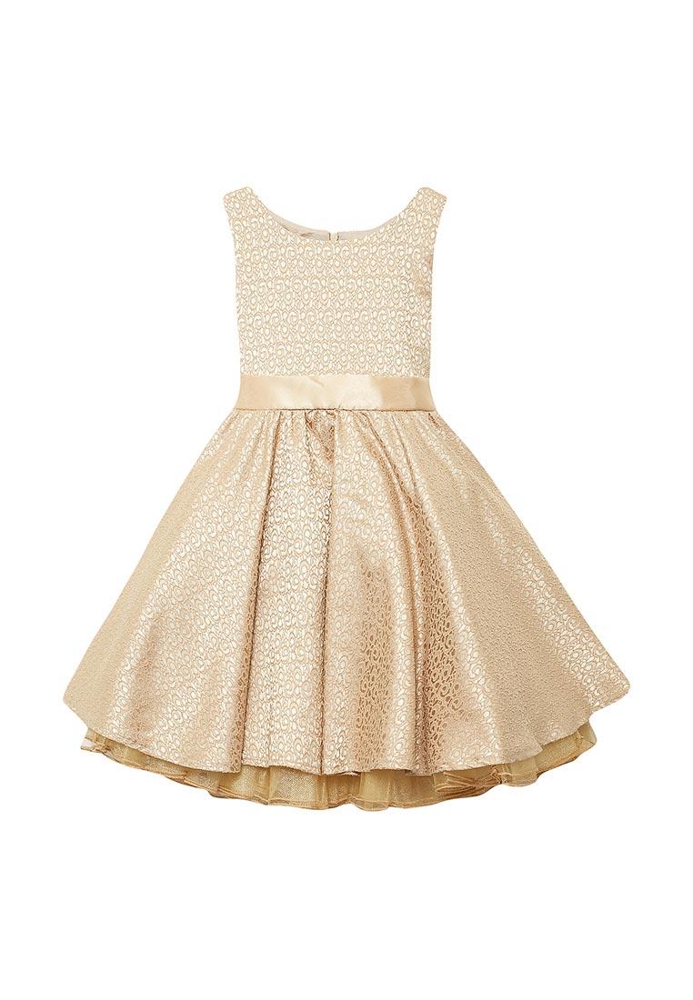 Нарядное платье Shened SH17120бежевый-116-122