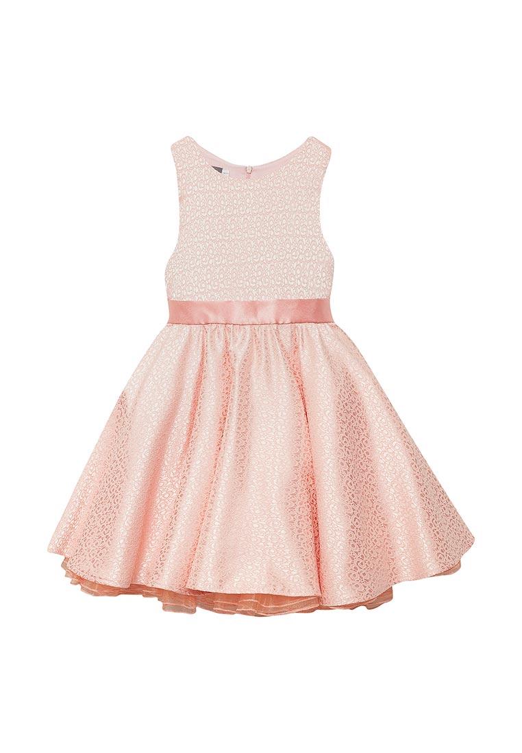 Нарядное платье Shened SH17120коралл-116-122