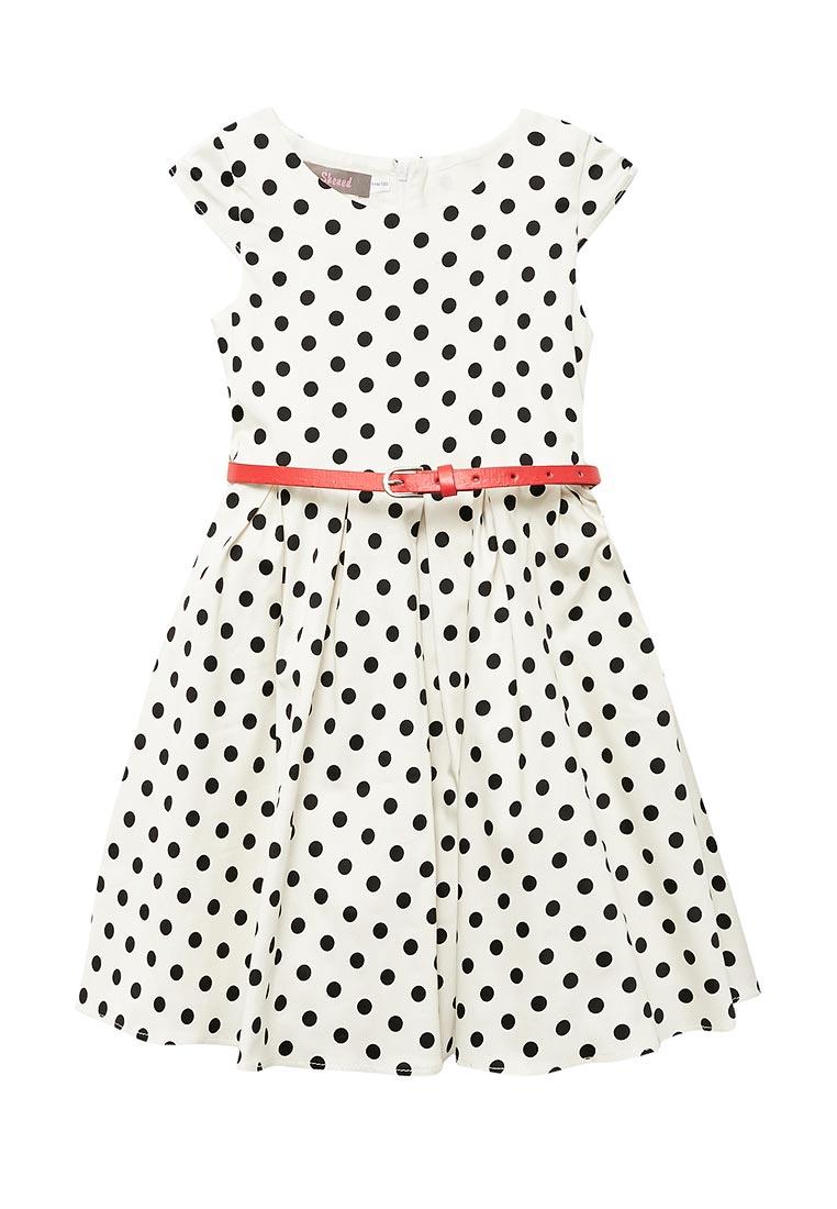 Нарядное платье Shened SH17210белый-116-122