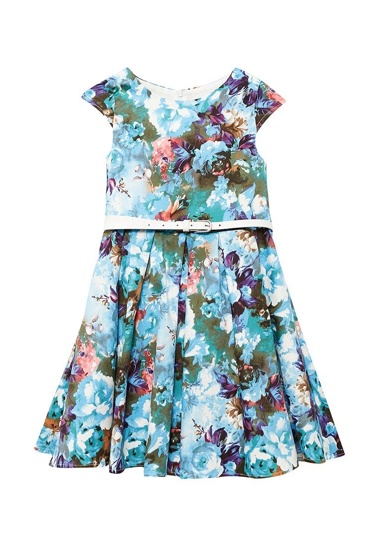 Нарядное платье Shened SH17220голубой-128-134